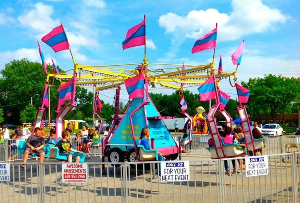 Carnival Ride Wind Jammer Swing