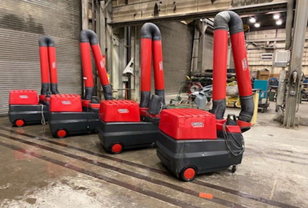 Lincoln Mobileflex 400-MS welding fume extractors