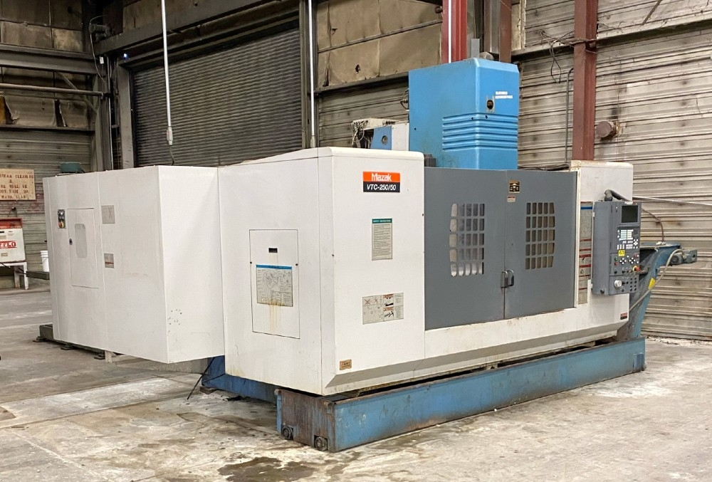 Mazak VTC-250-50 CNC Machining Center