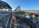 Hellcat galvanized structural steel – wood deck coaster